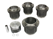 VW Piston Set - Mahle 31119806994