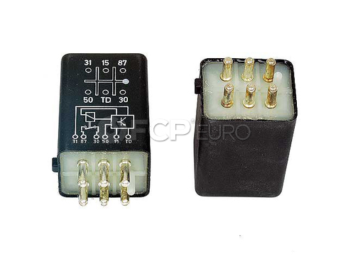 Mercedes Fuel Pump Relay (280SE 280E 280CE) - Stribel 0015450705
