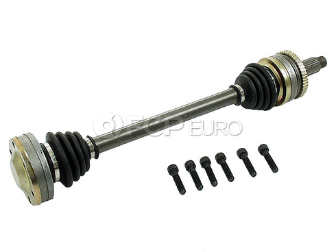 BMW CV Axle Shaft Rear (325 325e 325iX 325es) - GKNLoebro 33211225892