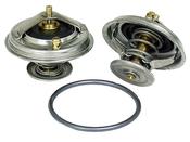 Audi VW Engine Coolant Thermostat (EuroVan Golf Eos) - Borg Warner / Wahler 022121113