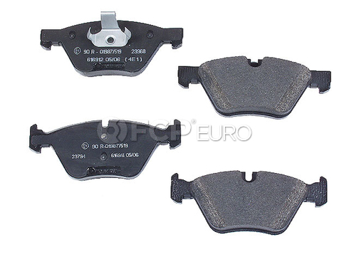 BMW Brake Pad Set Front (525i 330i 325i) - Jurid 573188J-AS