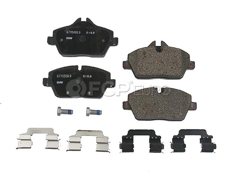 Mini Brake Pad Set - Genuine Mini 34116772892