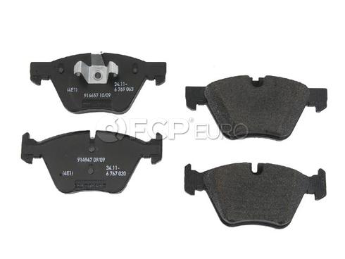 BMW Brake Pad Set (E82 E88) - Genuine BMW 34116777772