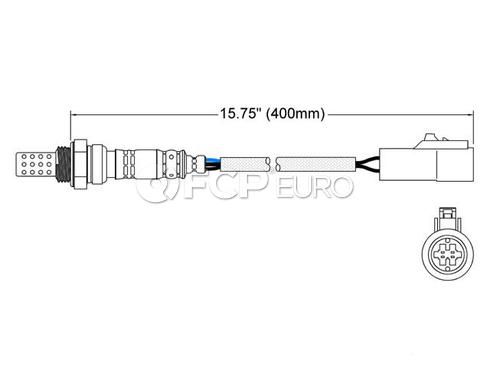 Jaguar Oxygen Sensor (S-Type) - Walker 250-24001