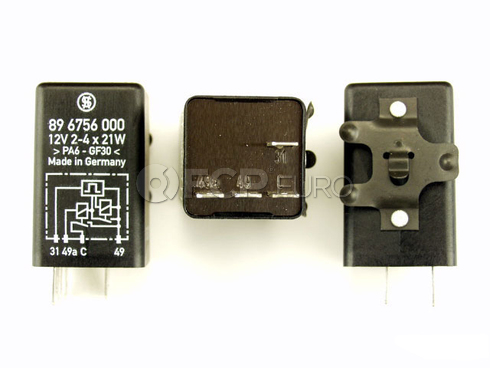 BMW Turn Signal Relay 4 Prong - Genuine BMW 61311365609