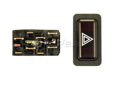 BMW Hazard Warning Switch (528e 318i 325e 325es) - Genuine BMW 61311367340