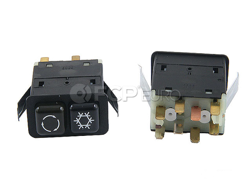 BMW A/C Control Switch - Genuine BMW 61311380557