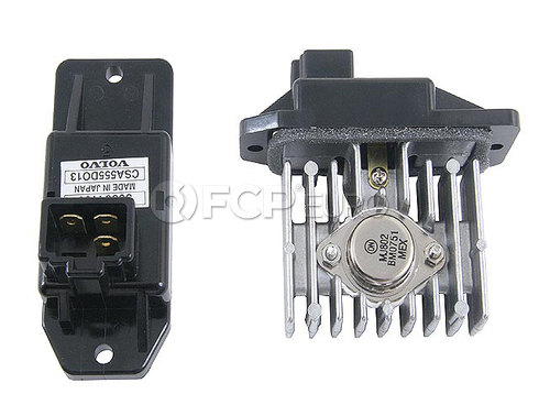 Volvo Blower Motor Resistor (S40 V40) - Genuine Volvo 30864189