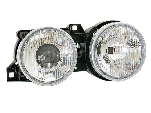BMW Headlight Assembly Front Right (E30) - Genuine BMW 63121385798