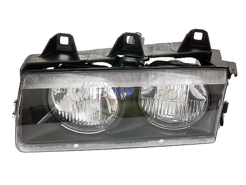 BMW Headlight Assembly Left (Halogen) - TYC 63121387861