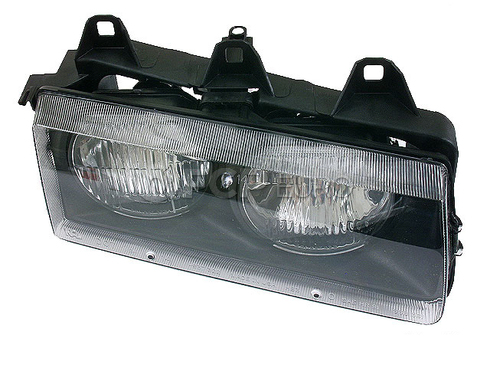 BMW Headlight Assembly Right (Halogen) - TYC 63121387862