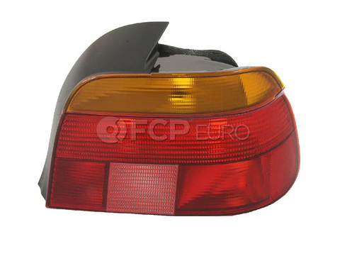 BMW Tail Light Lens Right - Hella 63218363560