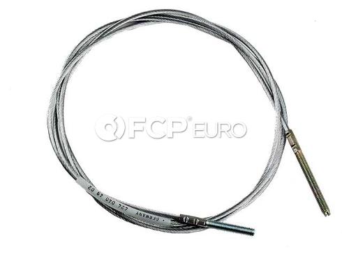 Porsche Clutch Cable (356B 356A) - Gemo 64442340100