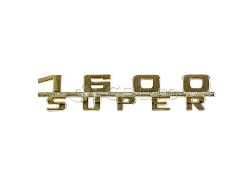 Porsche Emblem (356B 356C 356 356A) - OEM Supplier 64455931101