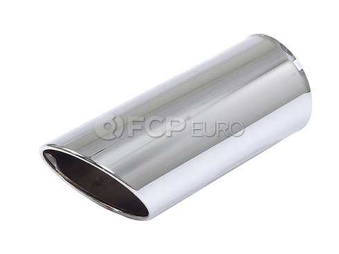 BMW Chrome Tail Pipe Tip (E30 E36 E34) - Genuine BMW 82119401456