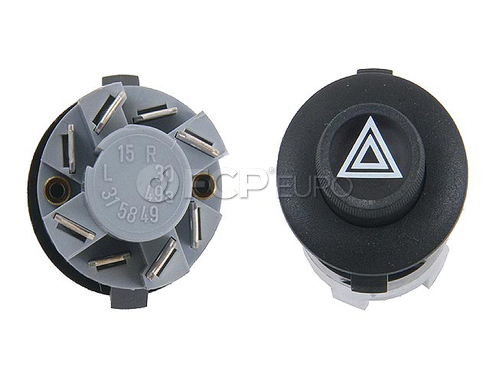Porsche Hazard Warning Switch (911930) - Genuine Porsche 91161312432