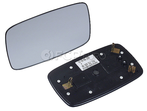 Porsche Door Mirror Glass Outer (924 911 928 930 944) - Genuine Porsche 91173103508
