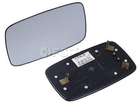 Porsche Door Mirror Glass Outer (924 911 928 930 944) - Genuine Porsche 91173103508