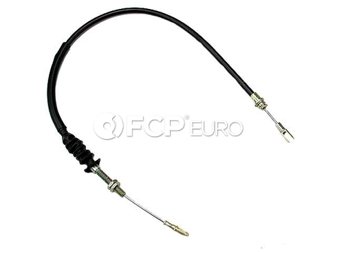 Porsche Parking Brake Cable Left (914) - Gemo 91442455101