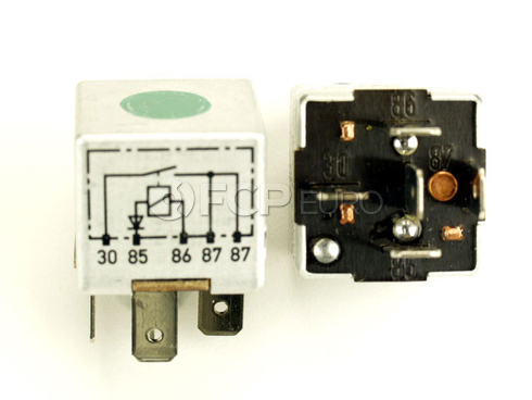 Porsche Multi Purpose Relay (928) - Genuine Porsche 92861511900