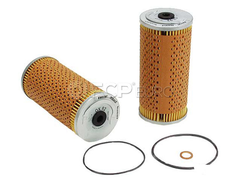 Mercedes Engine Oil Filter Kit - Mahle OEM 1191800009