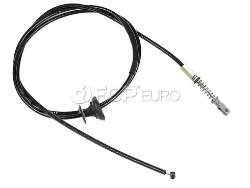 Mercedes Hood Release Cable (240D 300CD 280E) - Gemo 1238800159