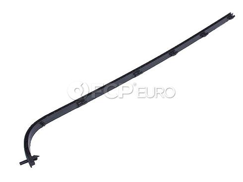 Mercedes Bumper Pad Retainer Strip - Genuine Mercedes 1238854423