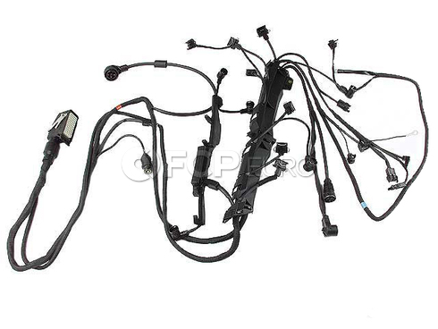 Mercedes Engine Wiring Harness (300CE 300E E320)- Genuine Mercedes 1244405632