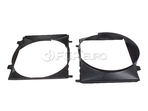Mercedes Cooling Fan Shroud - Genuine Mercedes 1265050655