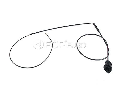 Mercedes Hood Release Cable (300SD 420SEL 560SEL) - Gemo 1268800859