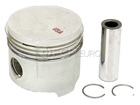 Mercedes Piston w/Rings - Mahle 1300309117
