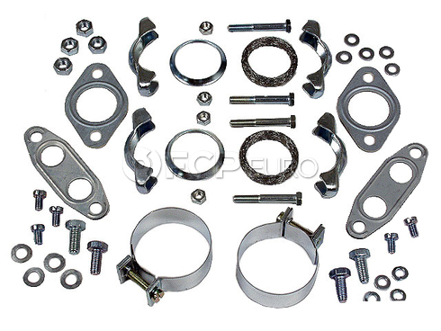 VW Exhaust Muffler Gasket Set (Beetle Super Beetle) - Dansk 111298009BG