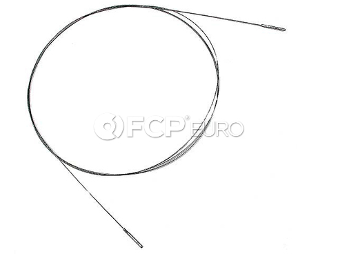 VW Heater Control Cable (Beetle Karmann Ghia) - Cofle 111711629E