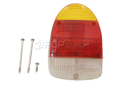 VW Tail Light Lens (Beetle) - RPM 111945241MBR