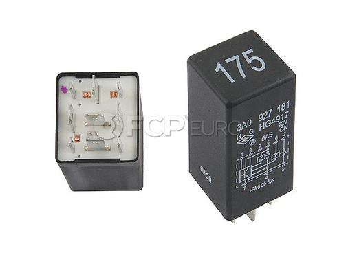 VW Audi Multi Purpose Relay - Meistersatz 3A0927181