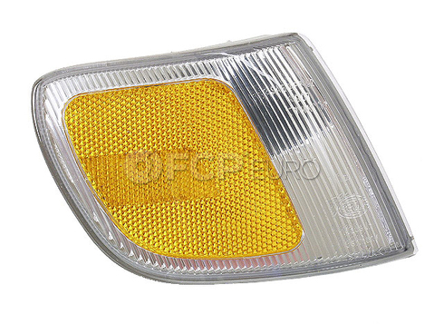 VW Side Marker Light Lens Front Right (Passat) - Hella 3A0945072