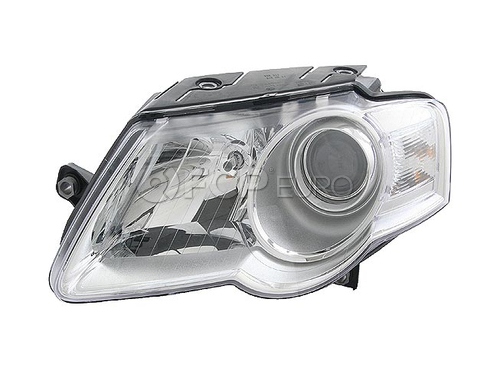 VW Headlight Assembly (Passat) - Hella 3C0941005L