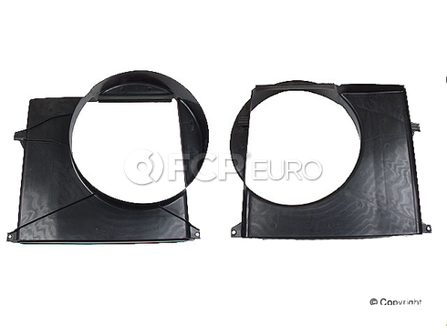 Mercedes Cooling Fan Shroud (ML350 ML320) - Genuine Mercedes 1635050655