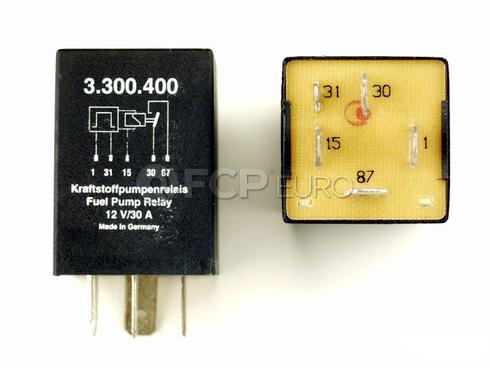 Audi Fuel Pump Relay - KAE 433907385D