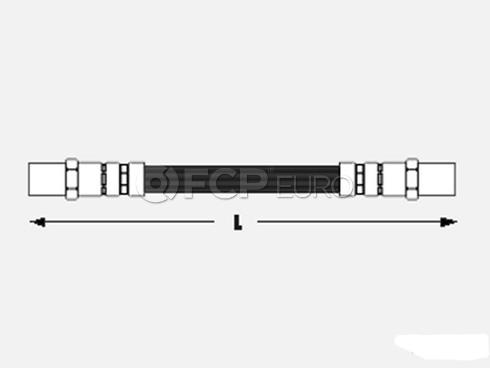 Audi Brake Hose (5000 5000 Quattro) - Meyle 443611775