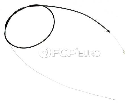Audi Hood Release Cable (100 5000 5000 Quattro)- Gemo 443823531A