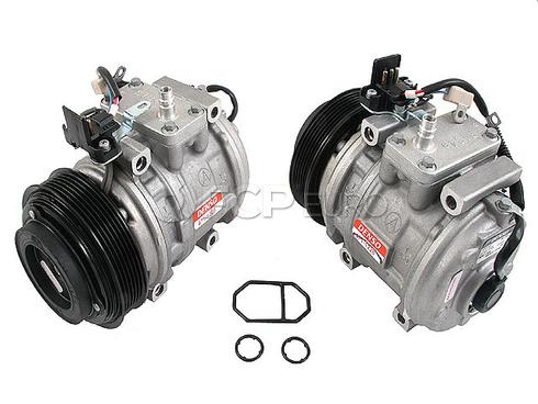 Mercedes A/C Compressor (E300 190E 190D 300D 300TD) - Denso 0002301111A