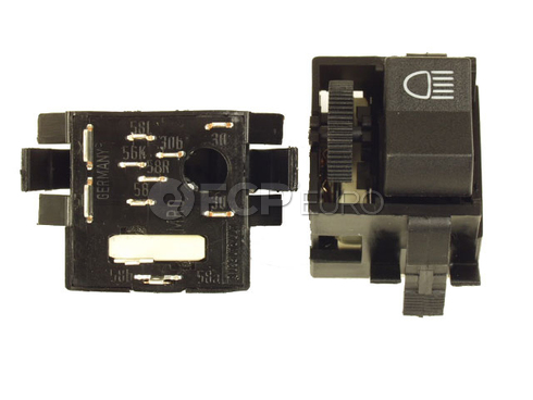 Porsche Headlight Switch (924 944) - Genuine Porsche 477941531G