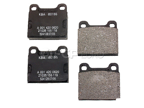 Mercedes Brake Pad Set Rear - Genuine Mercedes 001420062041