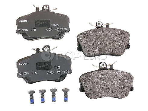 Mercedes Brake Pad Set (C220 C230 C280) - Genuine Mercedes 005420462041