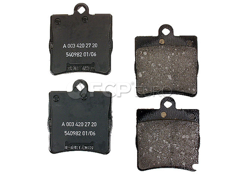 Mercedes Brake Pad Set - Genuine Mercedes 0034202720