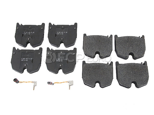 Mercedes Brake Pad Set - Genuine Mercedes 003420712041