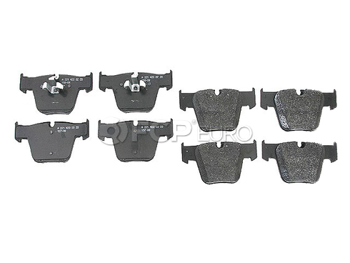 Mercedes Brake Pad Set - Genuine Mercedes 004420752041