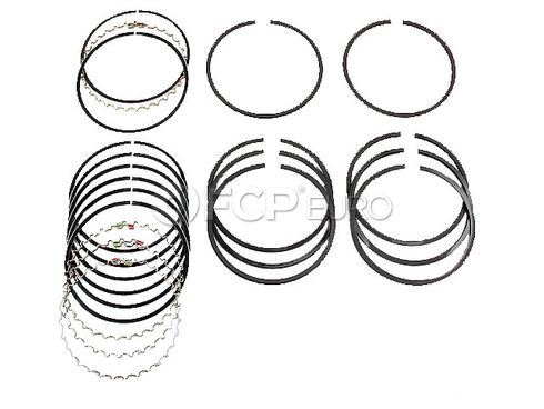 VW Piston Ring Set (412 Transporter Campmobile) - Grant 021198175ABR