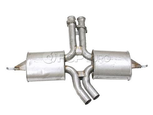 Mercedes Exhaust Muffler Center (420SEL 560SEL) - Ansa 1264905915A